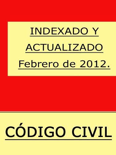 Descargar Libro Código Civil Con índice . Iustindle