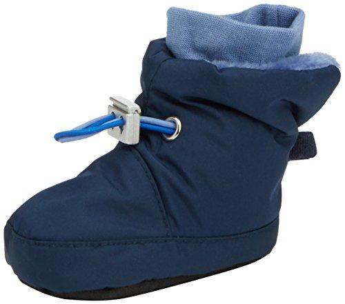Sterntaler Schuh, Baby Jungen Krabbelschuhe, Blau (marine 300), 19/20 EU