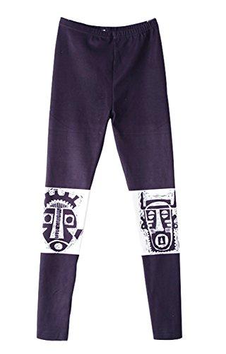 Legging Ellazhu Onesize Hippie Femme Imprimer Pantalon Maya Mode Gk200 Stretch rgSRq4Hg
