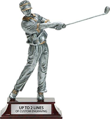 Resin Elite Male Figure Golf Trophy, 8