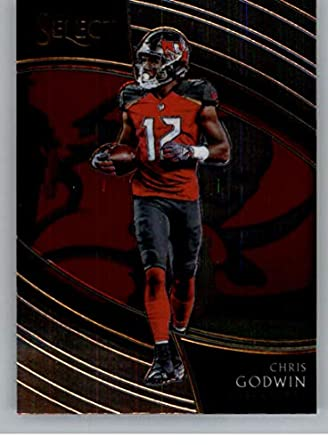 1ac1a4389fc 2018 Select Football #249 Chris Godwin Tampa Bay Buccaneers Field Level  Official NFL Trading Card