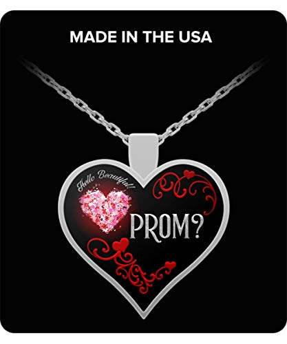 (RC Rex Books Promposal for Her - Promposal Ideas - Promposal Gift - Promposal Jewelry - Promposal Necklace - Prom Invite)