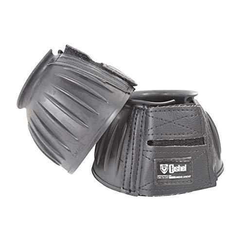 Cashel Rubber Bell Boot, Large, Black