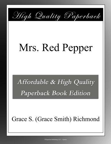Mrs. Red Pepper PDF