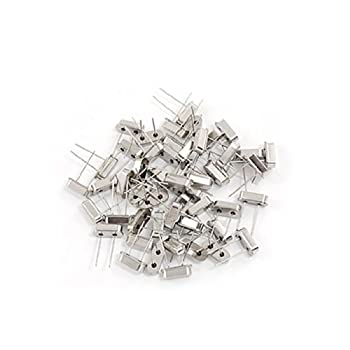 Uxcell a11072500ux0343 DIP Mounting Type Crystal Oscillator, 6.000 MHz, 50 Piece