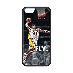 iPhone 6 Case, [kobe] iPhone 6 (4.7) Case Custom Durable Case Cover for iPhone6 TPU case(Laser Technology)
