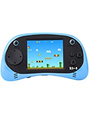 ZHISHAN Handheld Game Console for Children Built in 260 Classic Old Video Games Retro Arcade Gaming Player Portable Playstation Boy Birthday 8 Bit Rechargeable