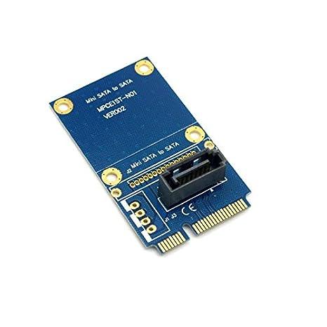 CY 50 mm Mini PCI-E MSATA SSD a SATA 7pin unidad de disco duro ...