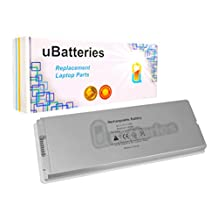 "UBatteries Laptop Battery Apple MacBook 13"" & 13.3"" (2006-2009) A1181 A1185 - 6 Cell, 55Whr (White)"
