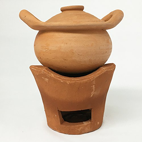 unglazed clay pot cookware - 7