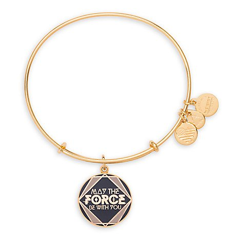 Disney Parks Alex and Ani ''May The Force - Disney Alex And Ani Bangles