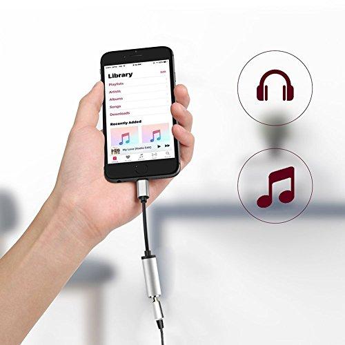 Adaptateur Pour iPhone , Prise Casque Adaptateur Vers Prise Jack 3,5 mm ÉCouteurs Adapter, iPhone Converter ÉCouteurs Adaptateur Convertisseur Pour Apple iPhone X / 8 Plus / 8 / 7 Plus / 7 iPhone Converter,Prise hot sale