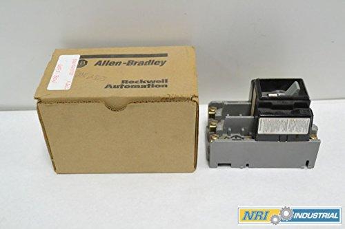 ALLEN BRADLEY 609T-BOW SERIES G SIZE 1 MANUAL 600V-AC 3HP MOTOR STARTER B233938