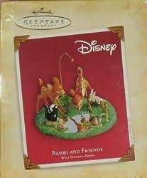 Bambi and Friends Walt Disney's Bambi 2004 Hallmark Keepsake ornamnent QXD5044