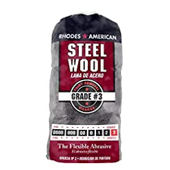 Steel Wool, 12 pad, Coarse Grade #3, Rho...