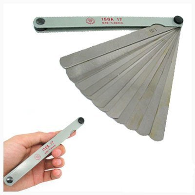 Amico Metric Thickness Feeler Gage Gauge (0.02-1.00mm), Outdoor Stuffs