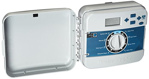 Hunter Sprinkler PCC1200I PCC 12-Station Indoor Irrigation Controller (Controller Irrigation Hunter)