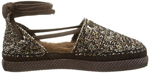 tweed Chaussures tweed Xanthium Brown Femme Castañer pwqn7PTE