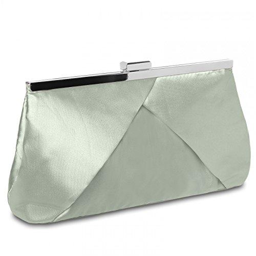 CASPAR Fashion - Cartera de mano para mujer - beige