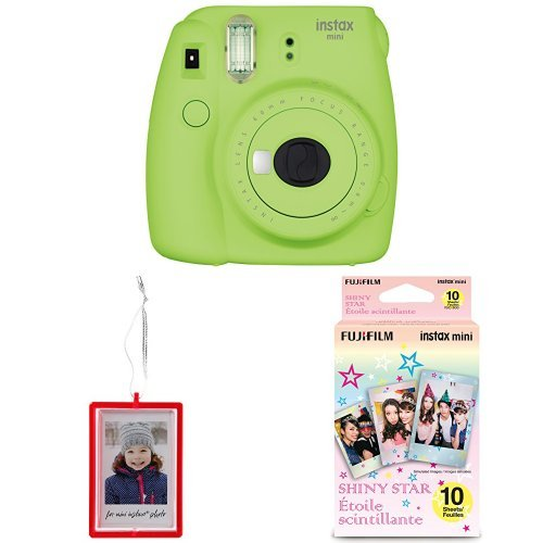 Fujifilm Instax Mini 9 Instant Camera with Holiday Ornament,