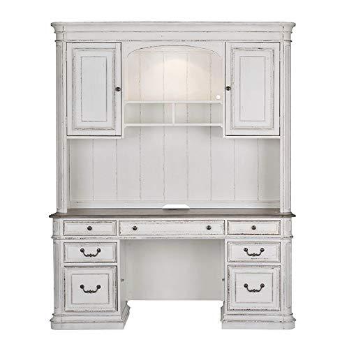 Liberty Furniture Magnolia Manor Jr Executive Credenza Hutch