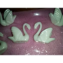 "1 1/2"" Tall, All-white Plastic Swan Party Favor. Bag of 12 Swans. …"
