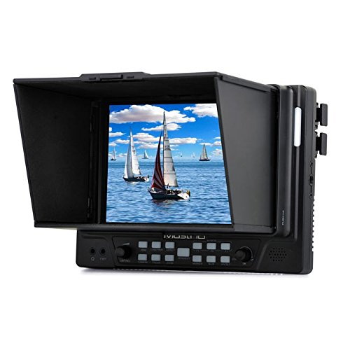 M702H 7-in HDMI On-camera Field Monitor for Professional Videographers by MustHD
