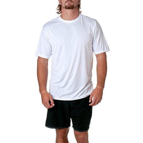 1sports manga Greucy hombre darka4 Gris Cool para de Camiseta corta Performance Crew RHqp7RAwvx