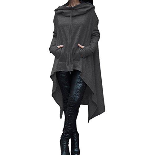 hooded long coats for women - 6
