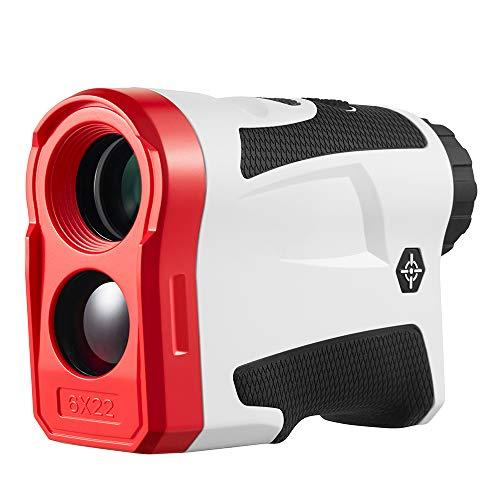 BIJIA Golf Rangefinder with Slope – 6X Laser Range Finder 650 Yards with Pinsensor, Flag Lock, SlopeCorrection, Distance Measurement,Vibration and USB