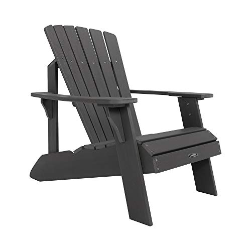Cheap Lifetime Faux Wood Adirondack Chair, Gray – 60204