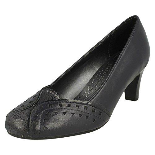 Navy Womens Janet De Combi Corte La Zapatos Padders Y5dPqd