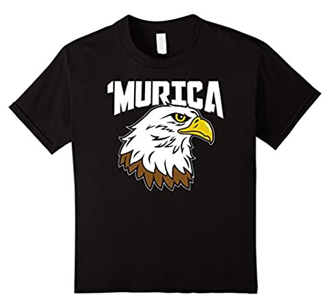 unisex-child American Citizen Gifts - Murica Eagle 4th of July USA Pride 4 Black (Citizen Flag Band)
