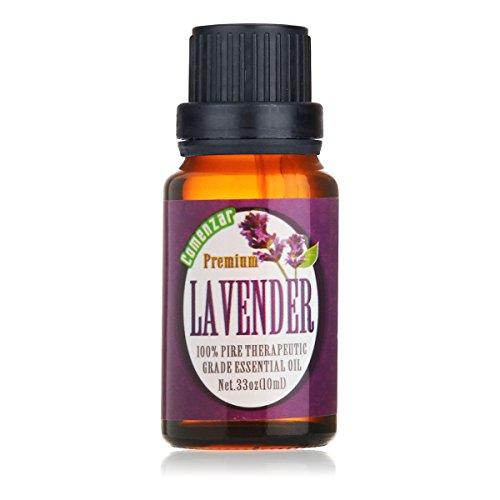 Lavender Essential Oil,Organic Lavender Scented Oil 100% pure Therapeutic Grade Essential Oil 10 ml by Comenzar