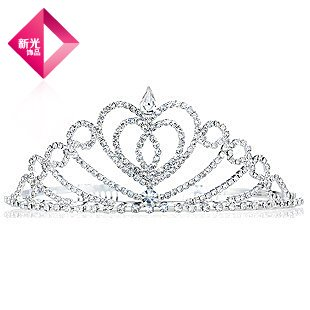 Generic Shin Kong jewelry new love girl companionship crown tiara tiara headdress bride elegant fashion jewelry