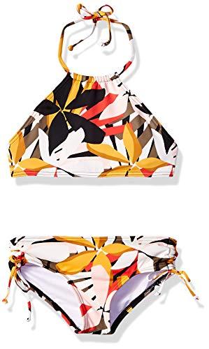 Billabong Girls' Girls' Eastern Sun High Neck Bikini Set Multi 12