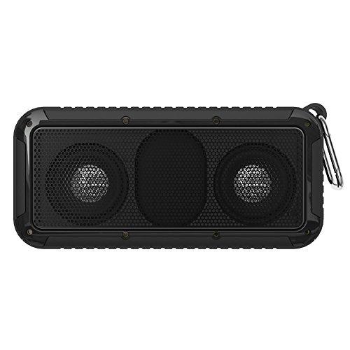 Vanpower New Bee Waterproof Shockproof Wireless Bluetooth Speaker with Mic CSR V4.0
