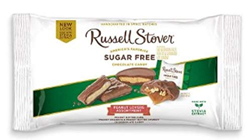 Russell Stover Sugar Free Peanut Lovers Chocolate Candy Assortment, 10 oz ()
