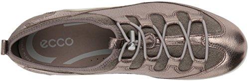 Women's Metallic Toggle Vibration Sneaker Stone II Navajo ECCO black Brown 6vqZdwq