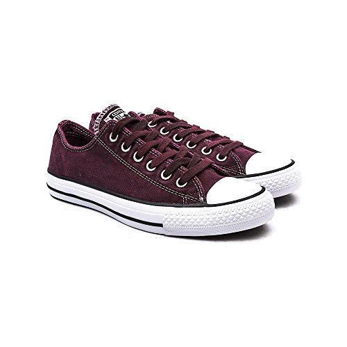 Converse All Star Wash Damen Sneaker Dunkel Rot