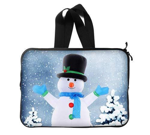 Christmas Snowmen Custom Lapotp Sleeves Bags 14