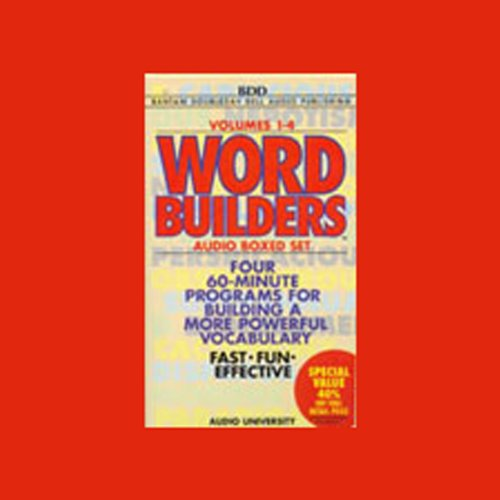 Word Builders: Volumes 1-4 by Bantam Doubleday Dell Audio