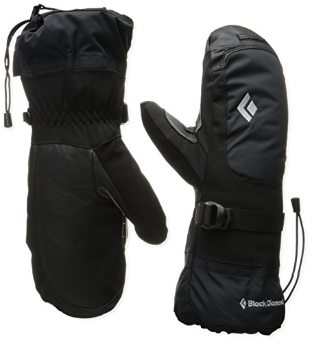 (Black Diamond Mercury Mitts Cold Weather Mittens, Black, Medium)