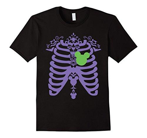 Mens Halloween costume 2017 for girl and women. Skeleton t-shirt. 3XL Black (Halloween Apparel)