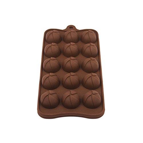 FantasyDay® 15er Silikon Backform / Muffinform für Muffins, Cupcakes, Kuchen, Pudding, Eiswürfel und Gelee - Fußball