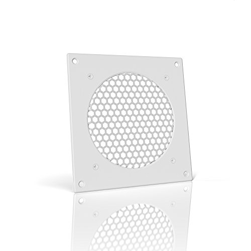 AC Infinity White Ventilation Grille 6'', for PC Computer AV Electronic Cabinets, replacement grille for AIRPLATE S3/T3 by AC Infinity
