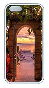 Beautiful and tranquil1 Custom iPhone 5s/5 Case Cover TPU White Christmas gift