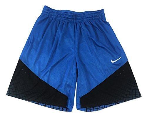 NIKE Men's Dri-Fit Elite Matrix Basketball Shorts 904464-435 Game Royal/Game Royal-Black (X-Large)