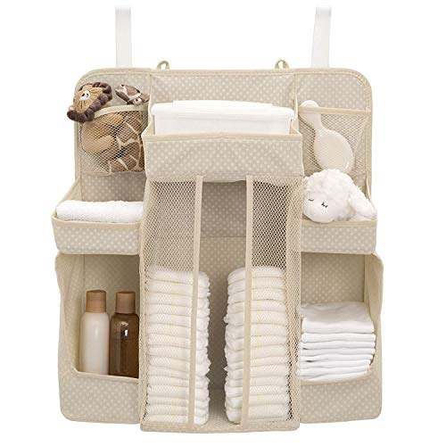 Delta Children Universal Hanging Organizer for Changing Tables | Diaper Caddy | Nursery Storage, - Table For Basket Changing Hanging
