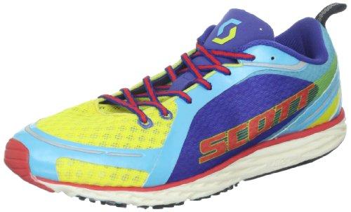 Scott Running Men's Race Rocker Running Shoe,Yellow/Blue,...